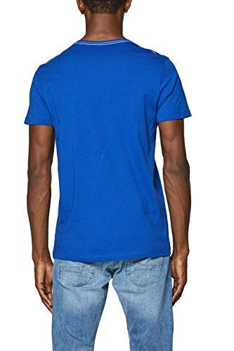 Bleu 410 Blue shirt Esprit bright Homme T zPwqft