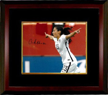 Christen Press Signed Autograph 8x10 Photo Custom Framed