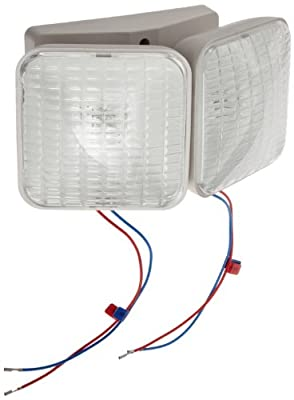 Morris Products 73062 Remote Emergency Light Head, 2 Square, Incandescent, 7.2 Watts, 6 Volts