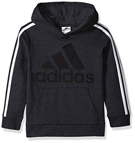 adidas Boys' Toddler Athletic Pullover Hoodie, Black, 3T