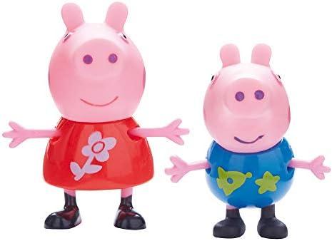 Peppa Pig - Pack de 4 figuras Familia: Amazon.es: Juguetes y juegos