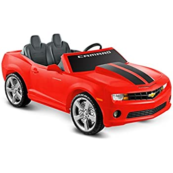 kid motorz cheverolet racing camaro 2 seater red