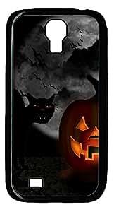 Samsung S4 Case Funny halloween PC Custom Samsung S4 Case Cover Black