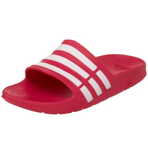 adidas Performance Kids' Duramo Slide Sandal (Toddler/Little Kid/Big Kid),Pink Buzz/Running White/Pink Buzz,