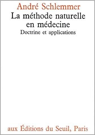 La méthode naturelle en médecine pdf, epub