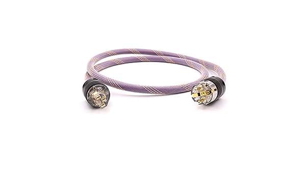 Dyslab AC-313 - Cable de Red (Hi-Fi, Cobre, Conector Dorado) 1,0 m ...