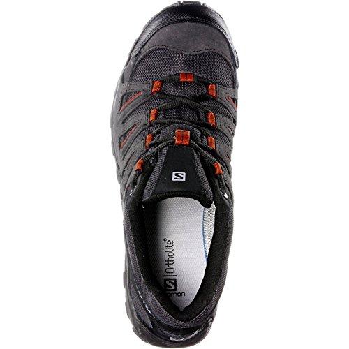 x Trekking x Herren Asphalt Black L38139800 Oxide Oxide amp; Grau Wanderhalbschuhe Asphalt Salomon Black aB1Oxa