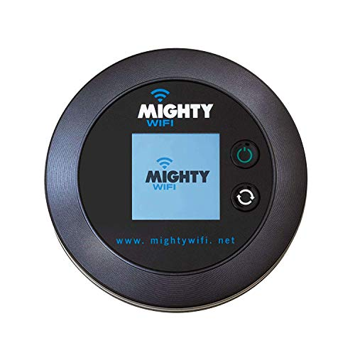 New New New MightyWifi Global Hotspot Mifi, Pocket Wifi, No SIM Card International Roaming Charges Worldwide Travel, Home Router, Secure and Shareable