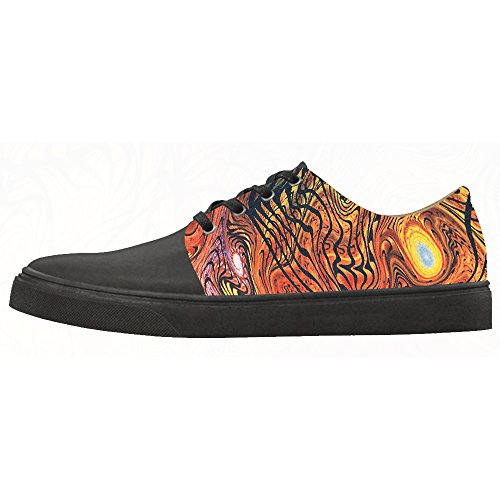 Women's Scarpe Canvas Scarpe Custom Paisley Shoes Le zp4wF