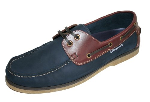 Seafarer , Herren Bootsschuhe (Navy/Redwood)