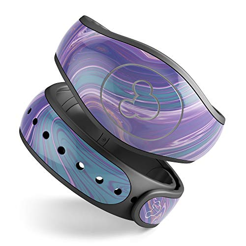Design Skinz Acrylic Agate V2 Premium Vinyl Decal Wrap Cover for The Disney MagicBand 2 (Fits Magic Band 2.0 for Disney ()