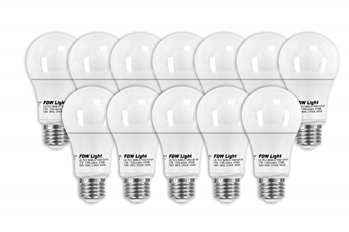 New 75 Watt Equivalent SlimStyle A19 LED Light Bulb 2700K 12 Pack
