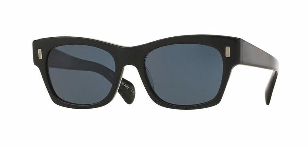 ae68b30de1 Amazon.com: Oliver Peoples - The Row 71st Street - 5330 51 - Sunglasses  (BLACK, persimmon): Clothing
