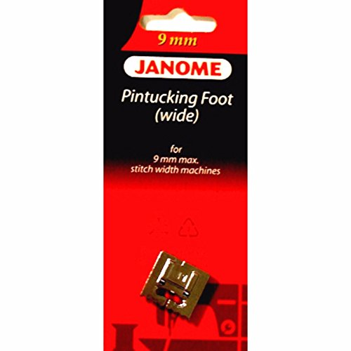Pintucking Foot (wide) #202093002 For Janome 9mm Max Stitch Width Machines