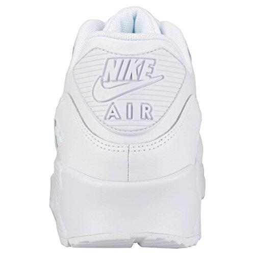 Nike Damen Wmns Air Max 90 Gymnastikschuhe Nero (White/White/White 133)