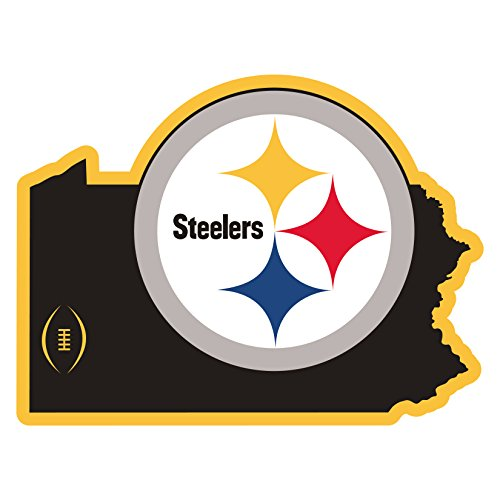 Siskiyou NFL Pittsburgh Steelers Home State Magnet, 11