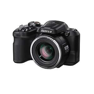 """Fujifilm FinePix S8600 - Cámara compacta de 16 MP (pantalla de 3"""", zoom óptico 36x, estabilizador óptico), negro"""
