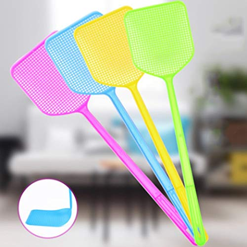 Dusters - 1pcs Household Fly Swatter Summer Handle Mosquito Shot Durable Useful Pest Control Flies Pattern - Swiffer Electronics Complete Short Count Trap Demo Kit Through Okto