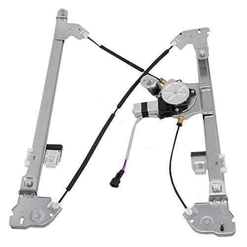 Drivers Front Power Window Lift Regulator with Motor Assembly Replacement for Ford Lincoln Pickup Truck 4L3Z1523201CA