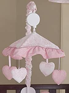 Sweet jojo designs musical baby crib mobile for Baby cot decoration gallery