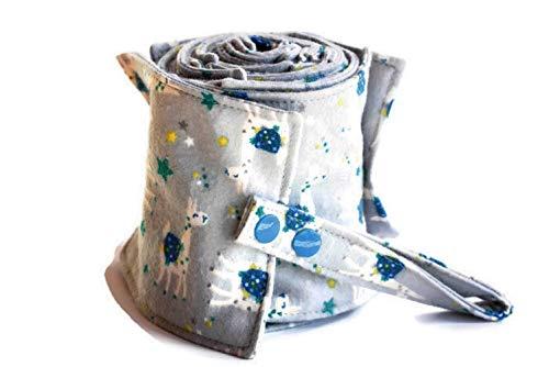Papier toilette lavable gris avec des lamas - rouleau 20 feuilles