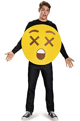 Emojis I'm Dead Sandwich Board Adult Costume