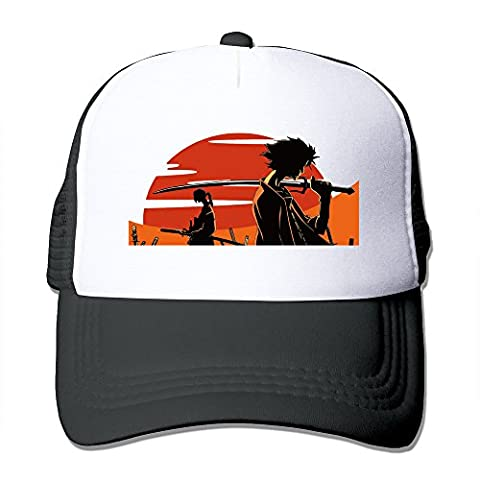 Cool Samurai Champloo Trucker Mesh Baseball Cap Hat Black - Samurai Champloo Military Cap