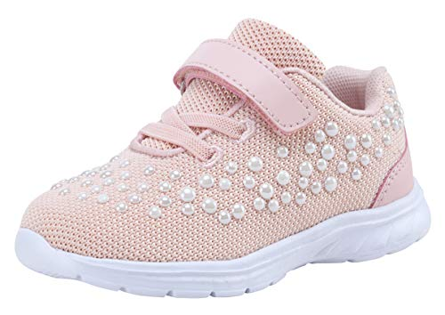- G GEERS Kids Girl's Fashion Sneakers Casual Sports Shoes (12 M US Little Kid,Carnation)