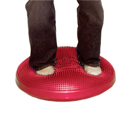 Cando Sitting and Standing Disc - 60cm (23.6'') - Red
