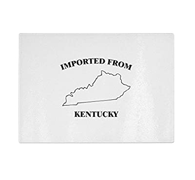 Imported From Kentucky Kitchen Bar Glass Cutting Board
