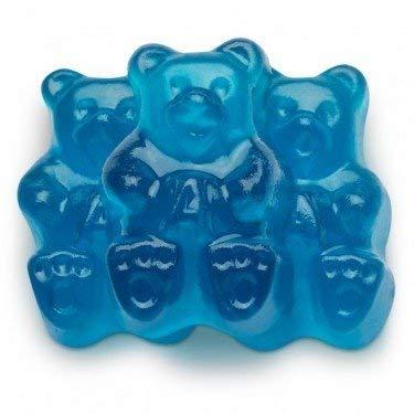 Raspberry Gummi Bears - FirstChoiceCandy Albanese Blue Raspberry Gummy Bears Gummi Candy 5 LB