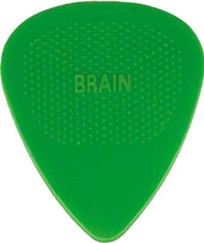 (D'Andrea Snarling Dog Brain Nylon Guitar Picks 72 Pack Refill (Green, 0.53mm))