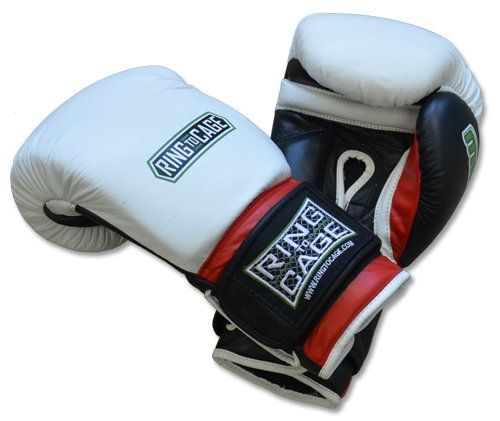 Deluxe MiM-Foam Sparring Gloves - Safety Strap , Top Rated Boxing Training Gloves, for Boxing, MMA, Muay Thai, Kickboxing (14oz)