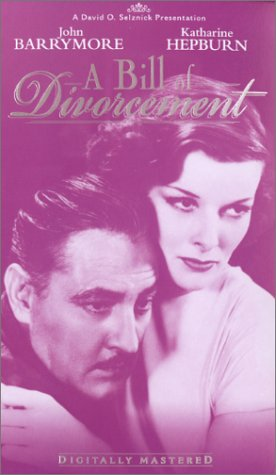 A Bill of Divorcement [VHS]