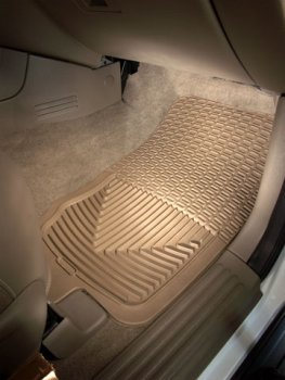 WeatherTech - W30TN - 2007-2010 Ford Expl Sport Trac Tan All Weather Floor Mats 1st Row