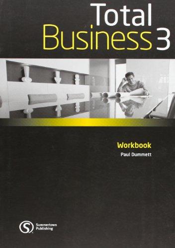 Total Business 3 Workbook with Key Paul Dummet