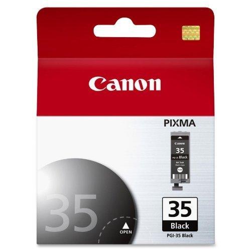 2 X Canon PGI-35 Black Ink Cartridge (Pgi 35 Black Cartridge)