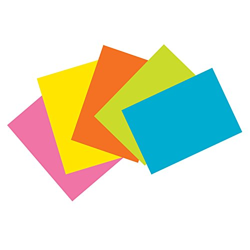 Pacon PAC1721 Index Cards, 4