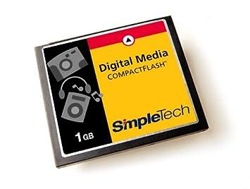 Amazon.com: simpletech 1 GB CompactFlash Tipo I Tarjeta de ...