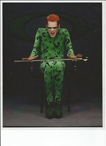 Jim Carrey as The Riddler Promo discharge #5 - 8 x 10 LAMINATED Photo 003