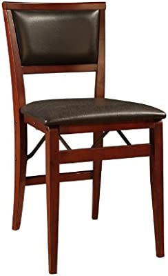 Prime Linon Keira Pad Folding Chair Set Of 2 Theyellowbook Wood Chair Design Ideas Theyellowbookinfo