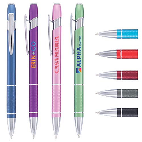 Custom Pens - Ellipse - ColorJet - Full-Color Metal Pen - $1.7/pc, Qty 100, No Setup Cost, Personalize With Logo PromoStadiumTM