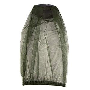 Funnyrunstore Outdoor Camping Anti-zanzara Hat Mesh Net Zanzariera cap Zanzara Abbigliamento (Verde) 1 spesavip