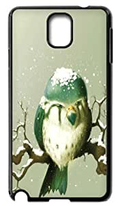Hard Case Back Cover - Animal Owl Samsung Galaxy Note3 N9000 Case