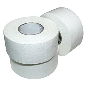 Ringside Athletic Trainers Cotton Tape, 1-InchX30-Feet, 15 Rolls