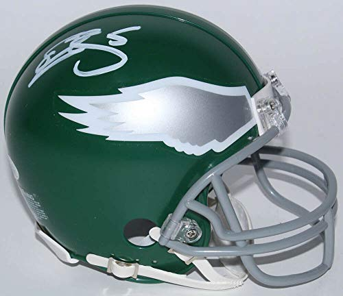 Donovan Mcnabb Autographed Signed Memorabilia Eagles Mini Helmet - JSA Authentic