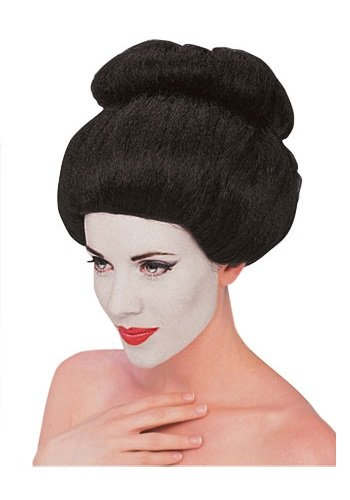 [Forum Geisha Wig, Black, One Size] (Asian Wig)