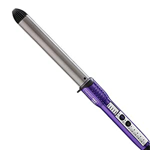 INFINITIPRO BY CONAIR Tourmaline Ceramic Curling Wand, 1-inch Extra Long Barrel