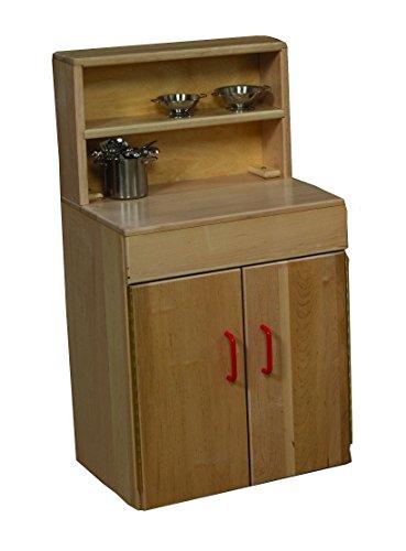 Hutch Deluxe Maple (Wood Designs WD20720 Maple Deluxe Hutch, 36 x 20 x 12