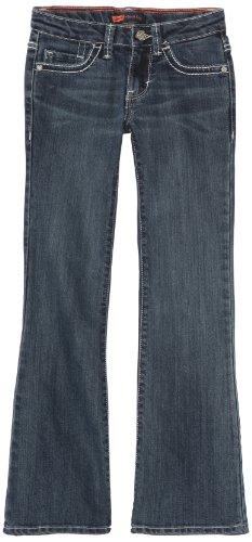 - Levi's Girls' Big 715 Bootcut Thick Stitch Jeans, Blue Wonder, 8